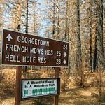 Eldorado National Forest - March 2015