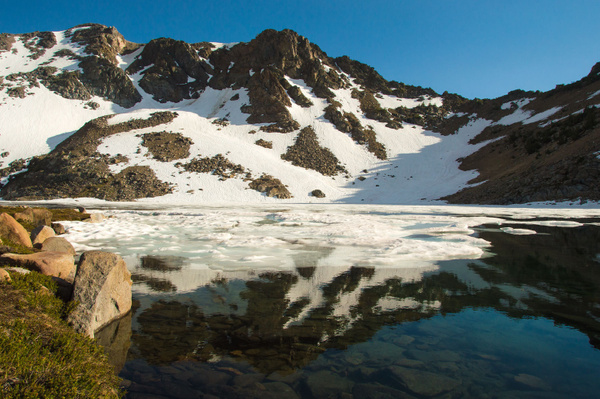 Anna Lake - Hoover Wilderness - July 2016 by Ski3pin