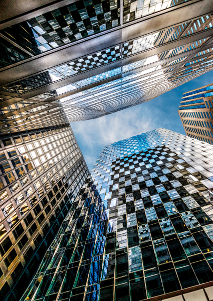 Chessboard - Abstract Architecture - Roxanne Bouché Overton