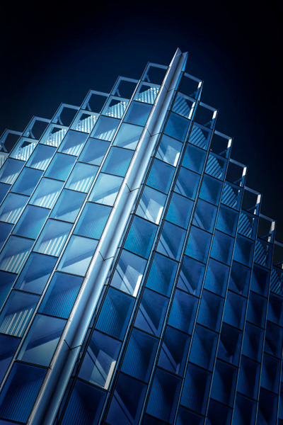 The Corner - Abstract Architecture - Roxanne Bouché Overton