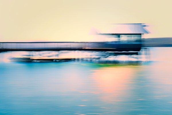The Pier at Nicks Cove - ICM - Landscape - Roxanne Bouche Overton