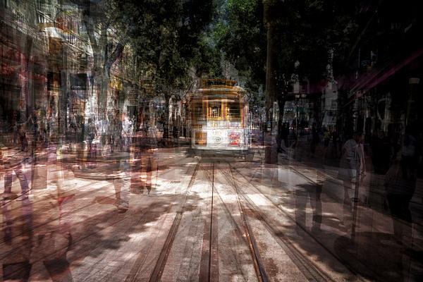 The Powell St. Line - ICM -Urban - Roxanne Bouche Photography