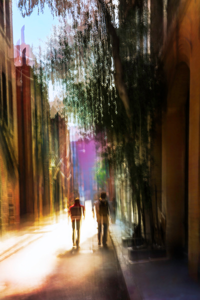 Alleyway - ICM -Urban - Roxanne Bouche Photography