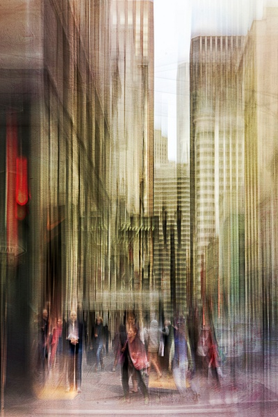Downtown - ICM -Urban - Roxanne Bouche Photography
