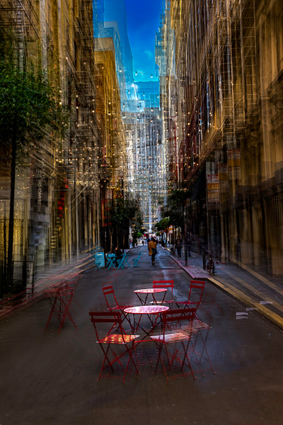 Maiden Lane - ICM -Urban - Roxanne Bouche Photography