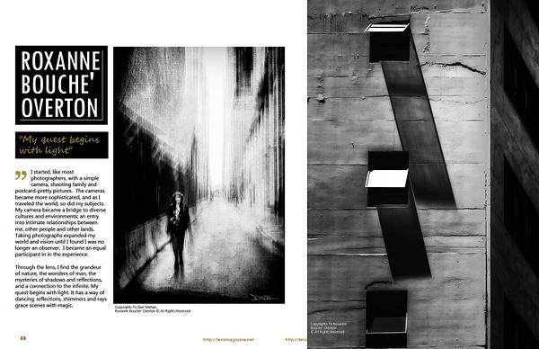 book-01-02 - Lens Magazine BW Issue, December 2017 - Roxanne Bouche Overton