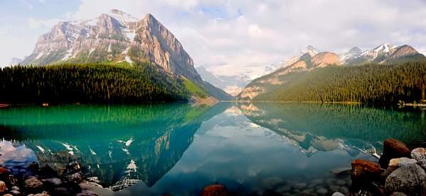 Lake Louise Panorama - Full Size