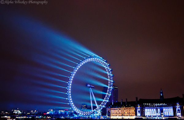 London Eye by Alpha Whiskey Photography