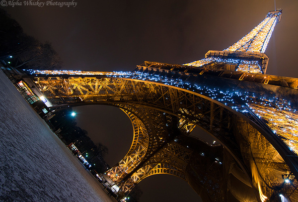 Eiffel Tower by Alpha Whiskey Photography