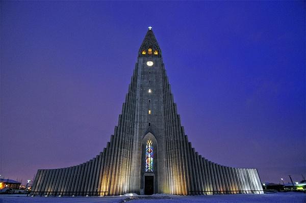 Hallgrimsikirkja, Reykjavik by Alpha Whiskey Photography