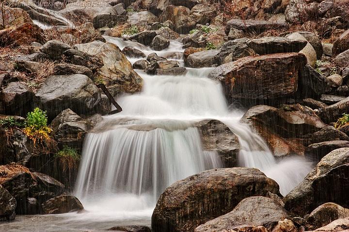Waterfall, Isola