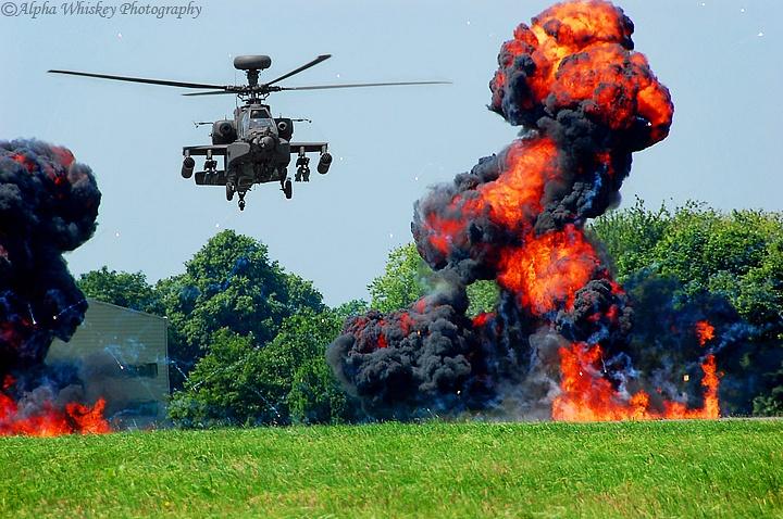 Apache Helicopter Gunship