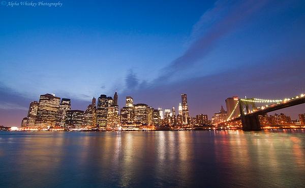 Manhattan Skyline by Alpha Whiskey Photography