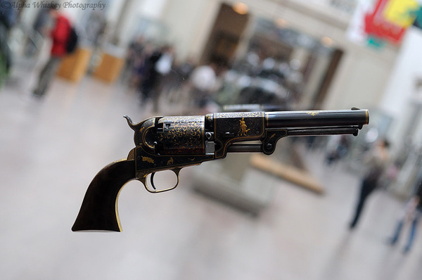 Met Museum Gun by Alpha Whiskey Photography