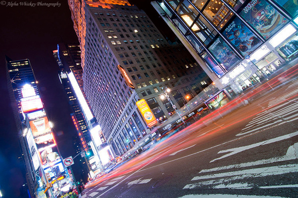 Time Square by Alpha Whiskey Photography