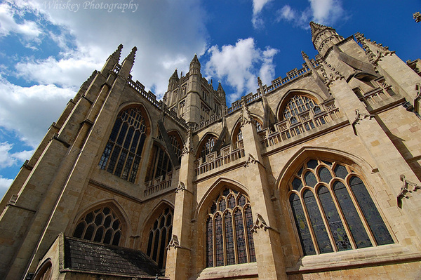 Bath Cathedral by Alpha Whiskey Photography