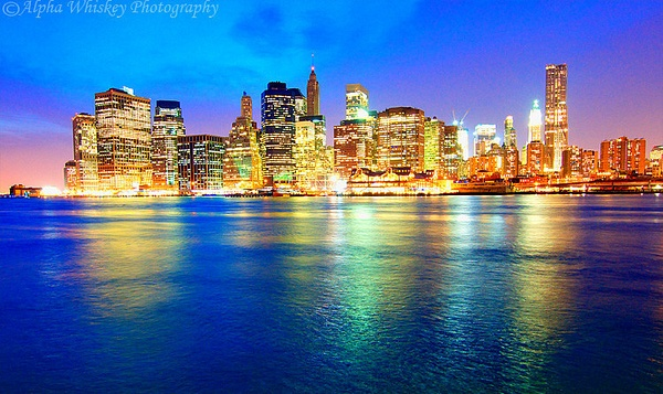 New York In Colour by Alpha Whiskey Photography by Alpha...