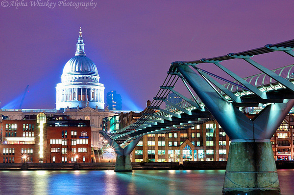 Two Cathedrals by Alpha Whiskey Photography