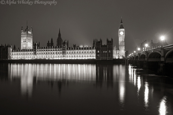 London In Black And White by Alpha Whiskey Photography...