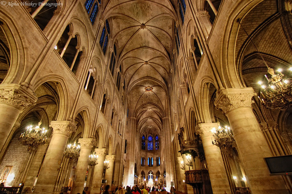 13_Notre_Dame_Inside by Alpha Whiskey Photography
