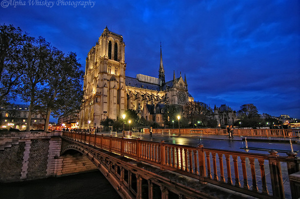 14_Notre-Dame-at-Dusk by Alpha Whiskey Photography