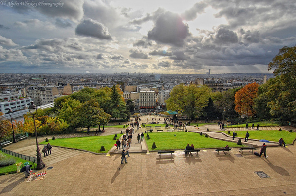 21_View_from_Sacre_Coeur_2 by Alpha Whiskey Photography