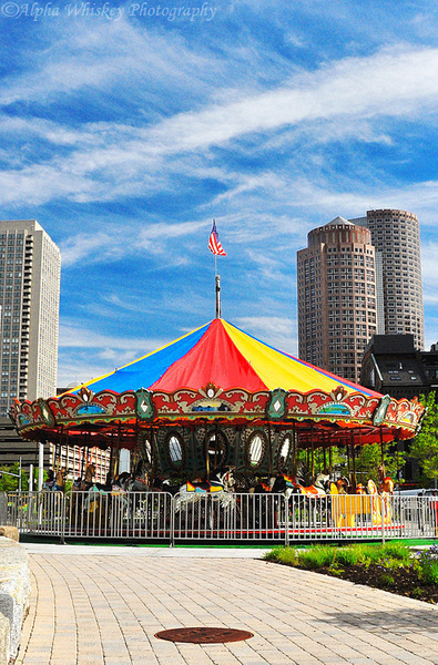 17_Carousel_Rose_Kennedy_Greenway by Alpha Whiskey...