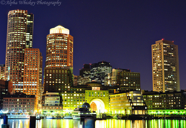 Boston Nights by Alpha Whiskey Photography by Alpha Whiskey Photography