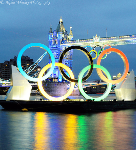 Olympic Decor 2012 by Alpha Whiskey Photography by Alpha...