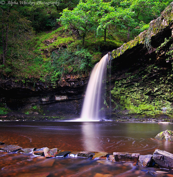 Brecon Waterfalls by Alpha Whiskey Photography