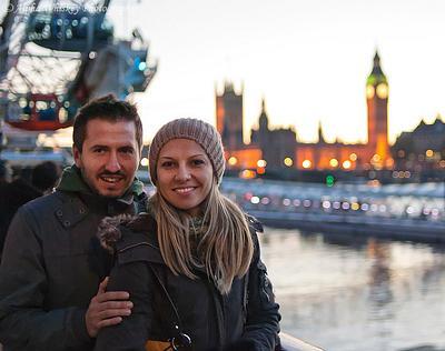 Genka and Petar's London Trip