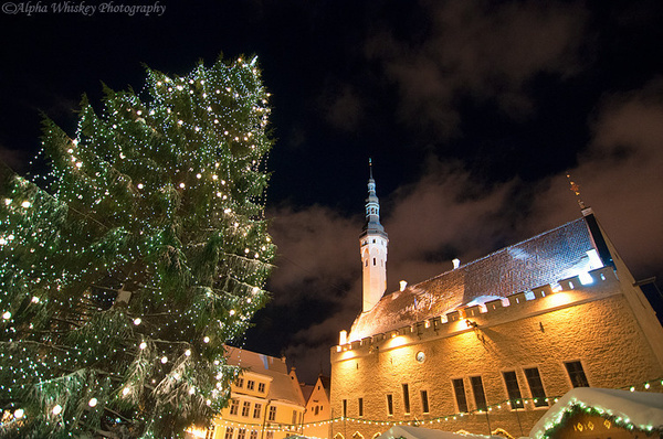 Christmas in Tallinn by Alpha Whiskey Photography