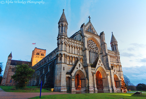 St Alban's Cathedral by Alpha Whiskey Photography