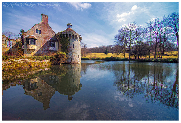 Scotney Castle by Alpha Whiskey Photography