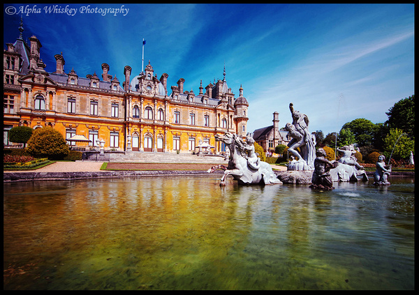 Waddesdon Manor by Alpha Whiskey Photography