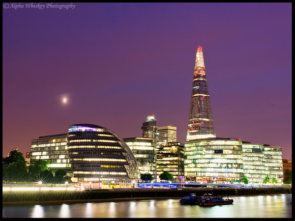 Evening In London by Alpha Whiskey Photography
