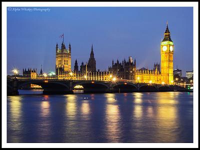 A Rainy London Night