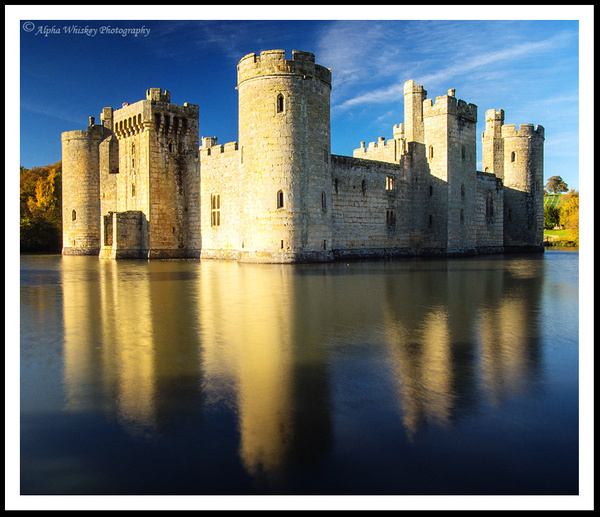 Bodiam Castle by Alpha Whiskey Photography