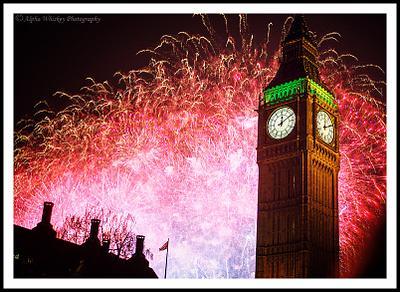 New Year Fireworks 2014