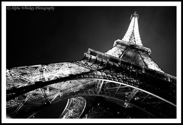Paris Monochrome by Alpha Whiskey Photography