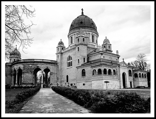 Mirogoj Cemetery by Alpha Whiskey Photography