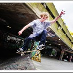 South Bank Skateboarders and Cyclists