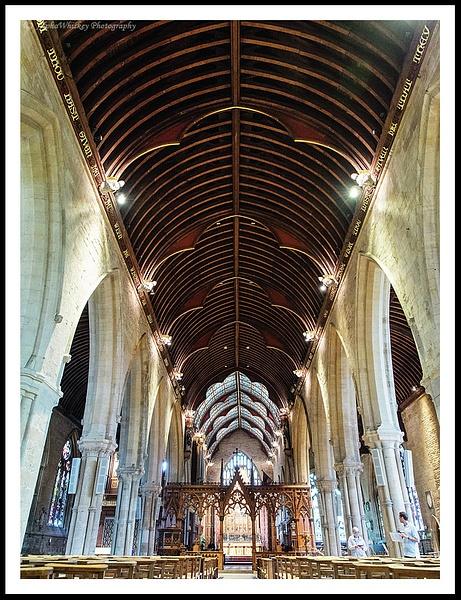 St Wulfram's Church by Alpha Whiskey Photography