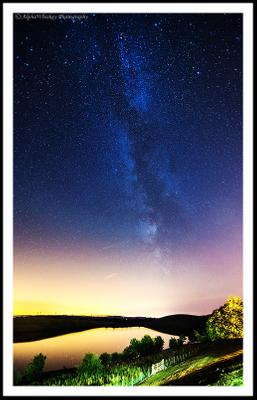 Milky Way Over Lake District