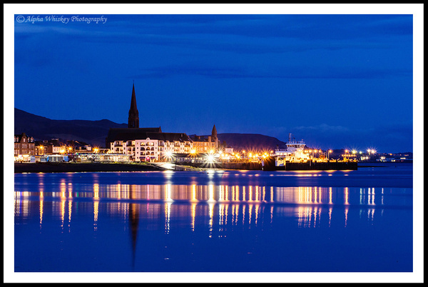 Evening In Largs by Alpha Whiskey Photography