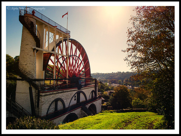 The Laxey Wheel by Alpha Whiskey Photography