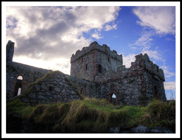 Peel Castle by Alpha Whiskey Photography