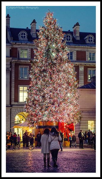 Christmas Lights In London by Alpha Whiskey Photography