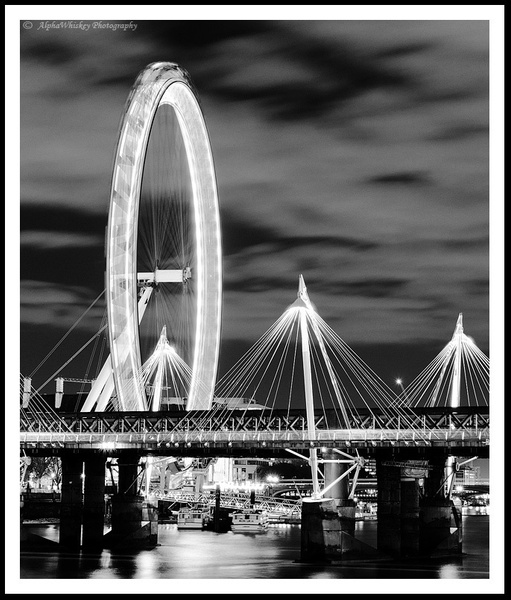 Catching London's Eye by Alpha Whiskey Photography