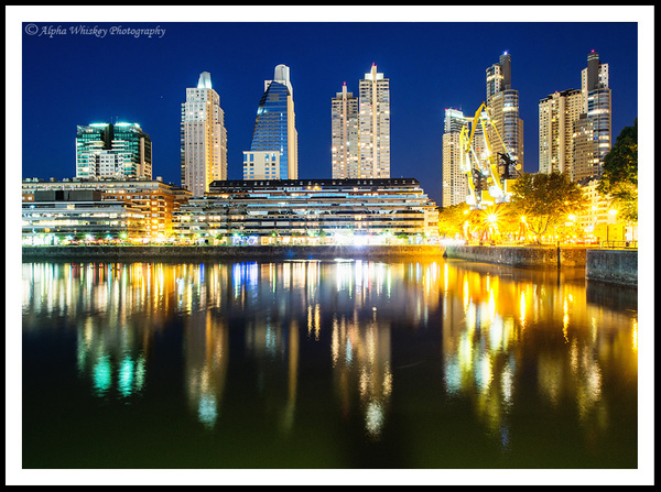 Buenos Aires At Night by Alpha Whiskey Photography